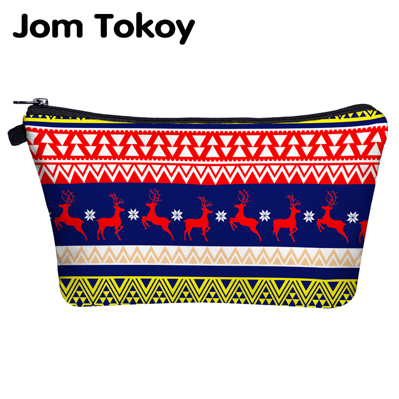 Jom Tokoy Cosmetic Travel Bag Christmas Gift Makeup Bags Organizer Bag Women Beauty Bag Hzb1017