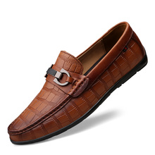 Loafers Men Gommino Driving Shoes Mans Moccasins Suede Mens Casual Shoes Slip On Men'S Flats Black Brown 7#28D50 size 36 47 mens suede loafers black brown white blue slip on men boat shoes driving moccasins d30