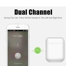 I12 TWS Wireless Earphones Mini Earbuds Bluetooth 5.0 Stereo Sport Headphone for IPhone Android Phone I 12 Tws Handsfree Headset