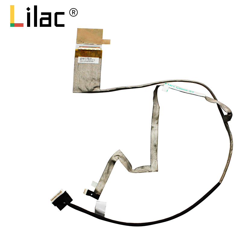 ShineBear Wholesale New LCD Flex Video Cable for Samsung NP370R5E NP450R5E NP470R5E NP510R5E Laptop Cable P//N BA39-01302A Cable Length: Other