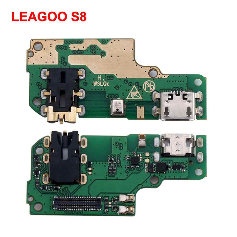 Original LEAGOO S8/ T8S / M11/ S11 Charging Port Board Repair USB Charging Dock Flex Cables for LEAGOO Power 2 Pro Mobile Phone