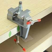 Multifunktionale Jewelers Umge Gusseisen Schraubstock Werkzeug Schraubstock Bank Hand Hobby Große Amboss Mini Tisch Klemme Mit Clamp-auf Auf C8A8