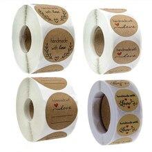 Etiquetas adhesivas de agradecimiento de fuente artística, decoración de papel de álbum de recortes, sellado, suministros de papelería, 100 Uds.