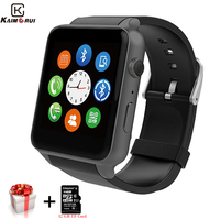 Smart Watch Men GT88 Bluetooth Smart Watches Heart Rate Pedometer SIM Smartwatch Answer Call TF Phone Watch for Android IOS
