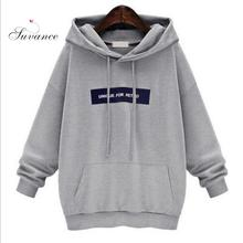 Autumn Winter Casual 2 Solid Color S-m Hooded Women Loose Hoodies 103