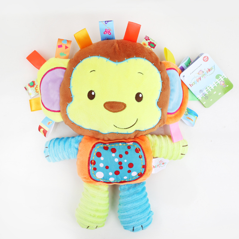 Toys & Hobbies ... Stuffed Animals & Plush ... 32328553748 ... 3 ... 8 Styles Baby Toys Plush Rattles Cute Stuffed Animal Infant Educational Learning Toys Gift for Toddler Children 0-12 month WJ199 ...