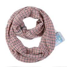 Осень и зима стиль Горячая Распродажа искусственный кашемир теплый Карманный шарф женский шарф на молнии для хранения