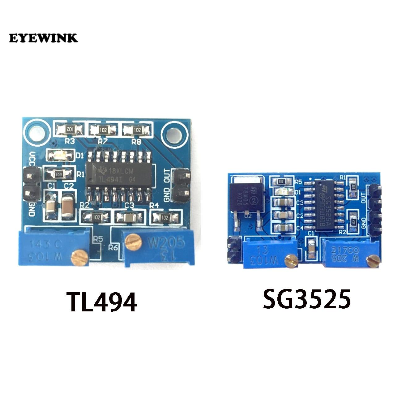 Модуль управления ШИМ TL494 SG3525, регулируемая плата управления частотой, электронный модуль «сделай сам», 1 шт.