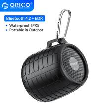Orico Outdoor Bluetooth Speaker Draagbare Draadloze Stereo Sound Boombox Waterdicht 4.2 Edr Muziek Sound Box Ondersteuning Usb Aux
