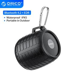 ORICO Outdoor Bluetooth Speaker Portable Wireless Stereo Sound Boombox Waterproof 4.2 EDR Music Sound Box Support USB AUX