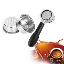 Чашка Фильтра для кофе 51 мм без давления фильтр корзина для Breville Delonghi фильтр Krups Кофе продукты кухонные аксессуары