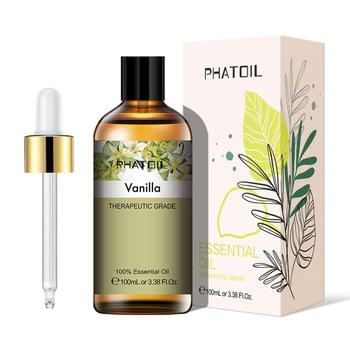 100ml Vanilla Essential Oil Diffuser Pure Natural Aromatherapy Essential Oils Lavender Eucalyptus Ylang Ylang Tea Tree Aroma Oil leozoe helichrysum essential oil certificate of origin italy high quality helichrysum oil 100ml aceite esencial etherische oli