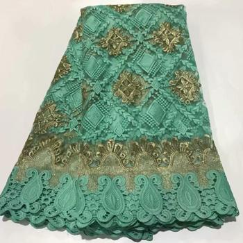 Fashion wedding/party embroidery French tulle lace cloth nice net lace fabric for dress ZQN291(5yards/lot)