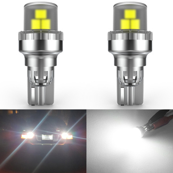 2pcs W16W T15 WY16W LED Bulbs LED car Backup Reverse lights Tail Lamps for Audi A3 A4 A6 Quattro Q5 BMW E36 VW Ford Toyota Lada image