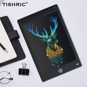 TISHRIC 8.5 inch LCD Writing Tablet for Drawing Digital Erasable Drawing Tablet/Pad/Board For Kids Electronic Graphics Tablet LC(China)