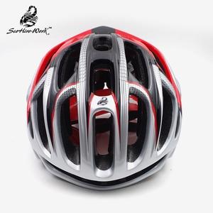 Image 3 - Ultralight בעובש קסדת עבור גברים נשים כביש mtb אופני הרי קסדות aero רכיבה על קסדת ציוד Casco Ciclismo M \ L