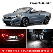 Para volvo c70 873 542 convertible 1998 2013 canbus nenhum erro veículo led interior lâmpadas acessórios de iluminação do carro