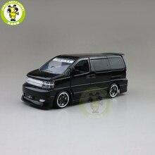 1/32 JACKIEKIM ELGRAND Diecast דגם רכב צעצועים לילדים קול תאורת רכב ילד ילדה מתנות