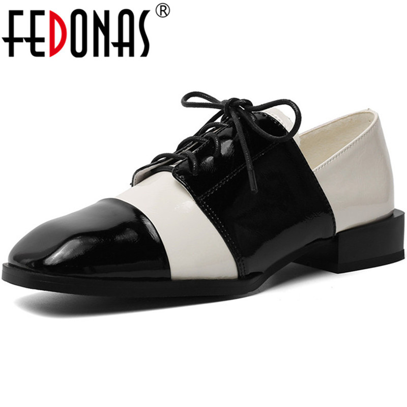 FEDONAS  New Arrival Women Concise Party Prom Shoes Spring Summer Cross-Tied Classic Pumps Genuine Leather Shoes Woman