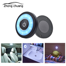 Car reading light led car interior rear ceiling lamp trunk roof home night lighting