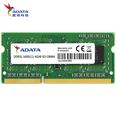 ADATA DDR3L 4GB <font><b>8GB</b></font> 1600Mhz 204Pin Laptop Memory <font><b>SODIMM</b></font> PC3L Notebook Ram <font><b>DDR3</b></font> image
