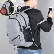 Backpack Gym Ball-Bags Basketball-Net Boys Fitness-Bag Sports School for Men Men's Student