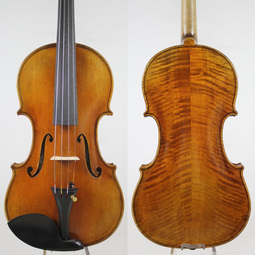 Copy Of Joseph Guarneri Del Gesu 1743 Cannon 4/4 Violin Rich Clear!Fast Response!Free Case, Bow, And Shipping!