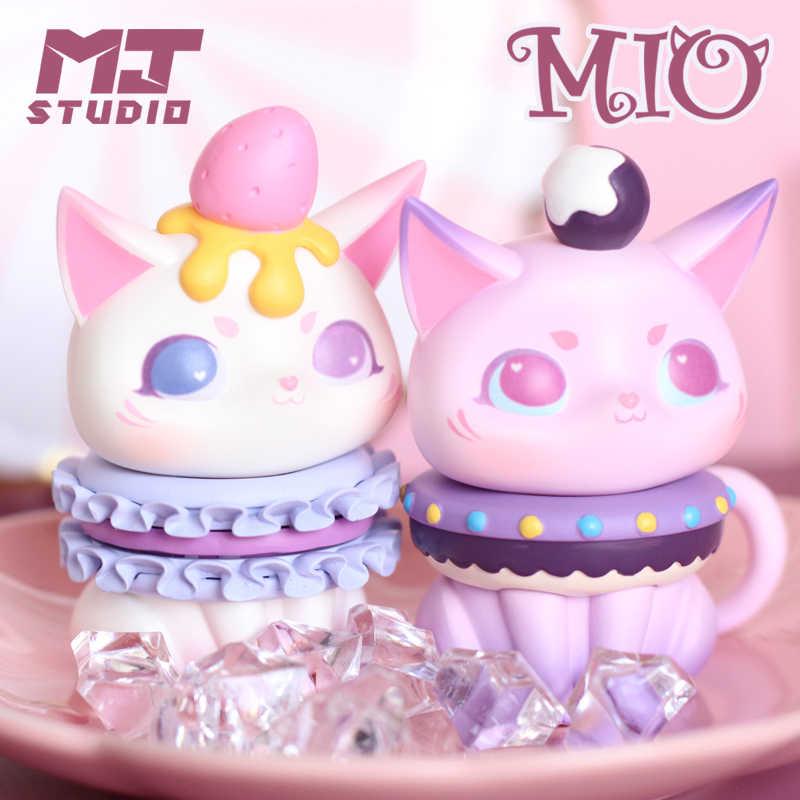 1 PC Mio שעת תה סדרת חתול קריקטורה עיוור תיבת אקראי תיבת צעצועי דמות קינוח Kawaii חמוד מתנות עבור בנות