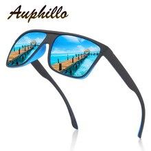 Sunglasses Men Women Fashion Brand Designer PC Frame Colorful Square Polarized Driving Fishing Sports Glasses