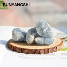 Mineral Crystal-Cluster Healing Stone Home-Decoration Quartz Natural-Kyanite Blue Ore