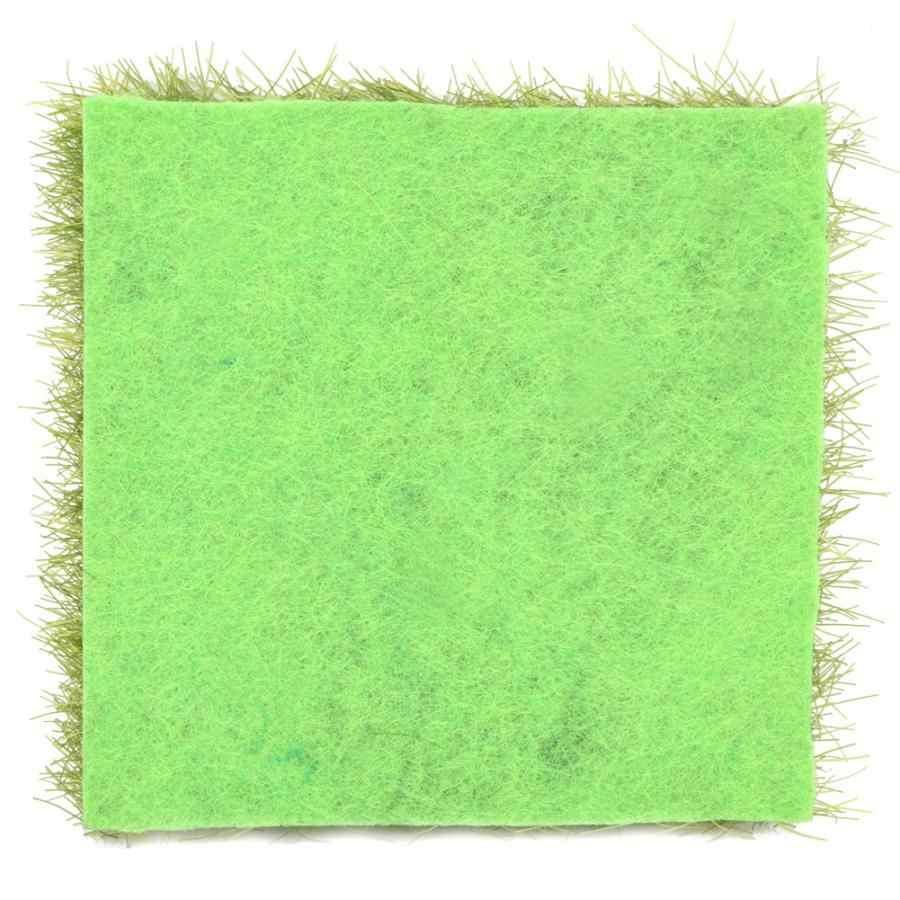 10 шт., пластиковые украшения для сада и дома, микро Ландшафтные украшения, имитация дерна 7,5*7,5 см, аксессуары для украшения домашней травы