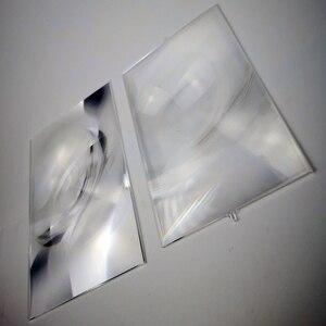Image 4 - Um par de fresnel lente projetor profissional diy para 7 Polegada lcd projeção 2 peças, venda de fábrica!