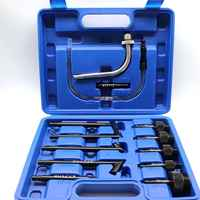 13 pièces huile recharge remplissage adaptateur ensemble CVT Transmission Service adaptateur ATF adaptateurs Transmission huile remplissage outil pour auto