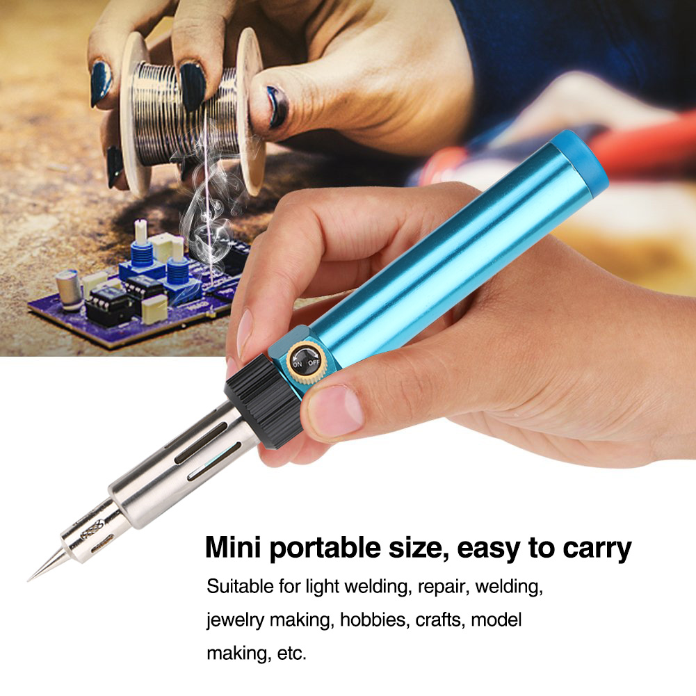 3in1 Gas Soldering Iron Pen-type Gas Soldering Iron Torch For Electronic Parts Repair Cutting And Welding