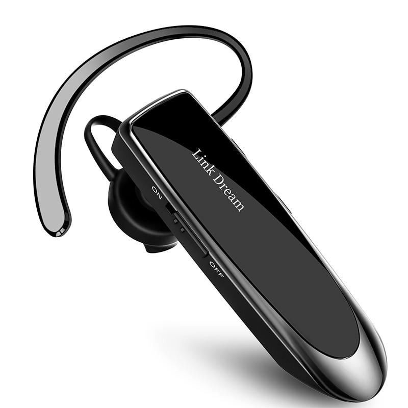 Новая Bluetooth-гарнитура с чипом 5,0, Спортивная гарнитура с громкой связью, мини-беспроводная гарнитура с сабвуфером, деловая телефонная гарнит...