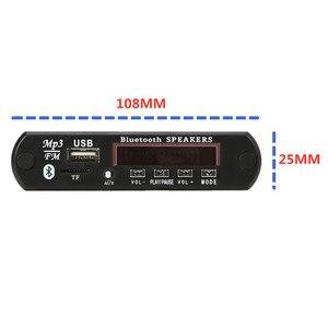 Image 2 - 2*3 ワットアンプ bluetooth 5.0 MP3 プレーヤーデコーダボード 5 v 12 12v 車の fm ラジオモジュールサポート fm tf usb aux ハンズフリー通話記録