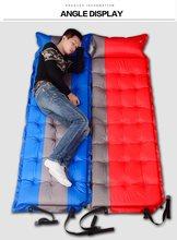 Engrossar moistureproof impermeável ao ar livre pvc acampamento esteira inflável saco ultraleve tenda inflável almofada de dormir