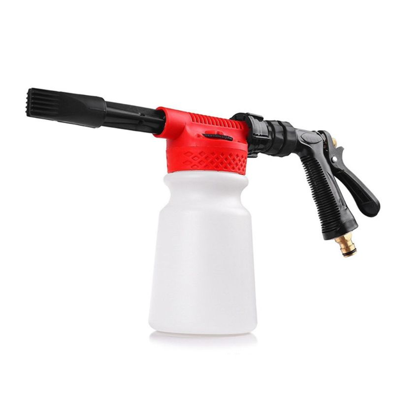 Car Washer High Pressure Snow Foamer Water Gun 900ml Car Cleaning Foam Gun Washing Gun