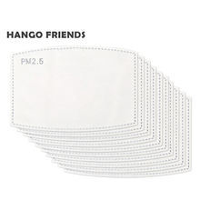 Hango PM2.5 Filter Mask for Adult PM2.5 10 20 50 100 Replacement PM2.5 Cotton 4 Layers PM2.5 Face Mask PM2.5 Mask Filter