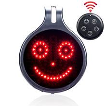 Wskaźnik LED 12v 5 wyrażenie lampy kierunkowskazu dla samochodu pilot na podczerwień wyświetlacz LED tylne okno wyrażenie pokładzie tanie tanio LLD-5BQD