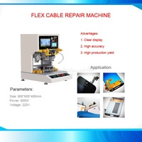 9011 universal hot press flex cable repair Welding machine mobile flex cable pulse machine 220V 110V for iPhone pad repair shop