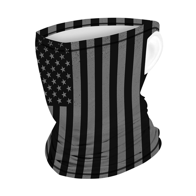 Multifunction Face Coverings American flag outdoor sports breathable mask cool and comfortable scarf magic turban Unisex