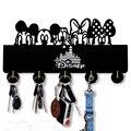 Mickey mouse gancho de parede de madeira gancho de chave autoadesivo | original disney presente para crianças | quarto cozinha escritório chave, chapéu, gancho de casaco.
