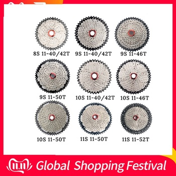 MTB Bicycle freewheel 8 9 10 11 Speed 40 42 46 50T Flywheel For Shinamo XT SLX Sram Mountain Bike Cycling Cassette Accessories image