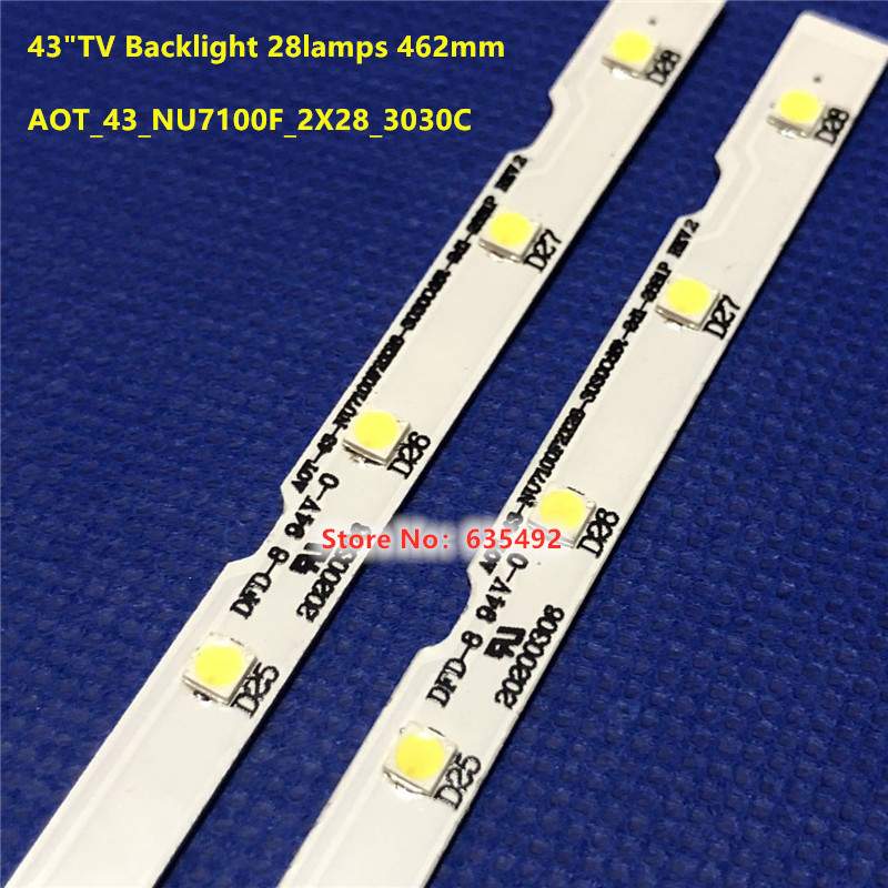 100% New LED Backlight Strip 28 Lamp For Sam Sung 43
