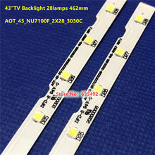 2PCS LED PARA TV SAMSUNG BN61-15482A PANEL CY-NN043HGAV2H MODELOS UN43NU7100F UN43NU7100FXZA UN43NU7100K UE43NU7020 UE43NU7440