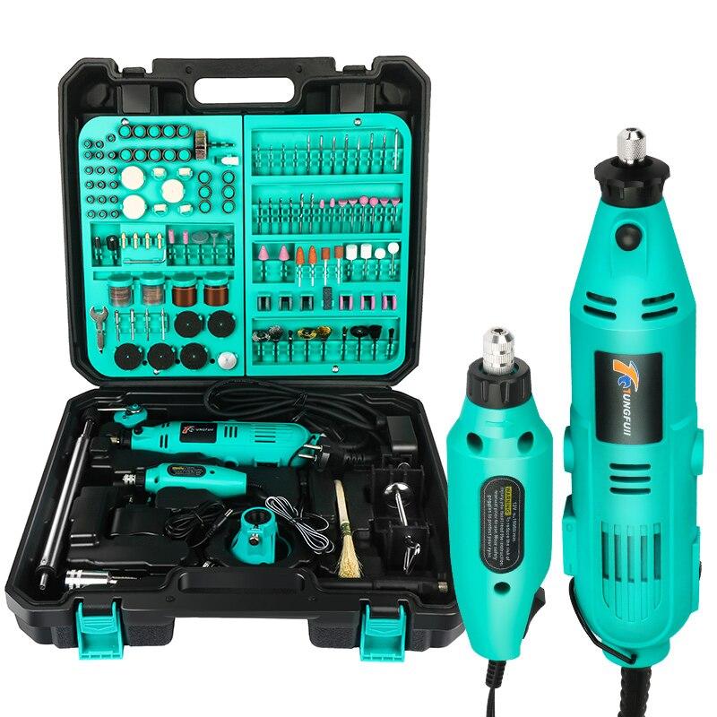 Minitaladro eléctrico de Tungfull, accesorios para taladro, brocas, herramientas de carpintería, herramienta rotativa eléctrica de velocidad Variable, minitaladro, amoladora