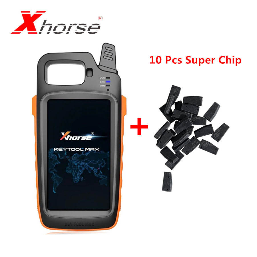 Xhorse VVDI KEY TOOL MAX Remote And Chip Generator Plus 10 Pcs Xhorse VVDI Super Chip XT27A01 XT27A66 Chip In Stock