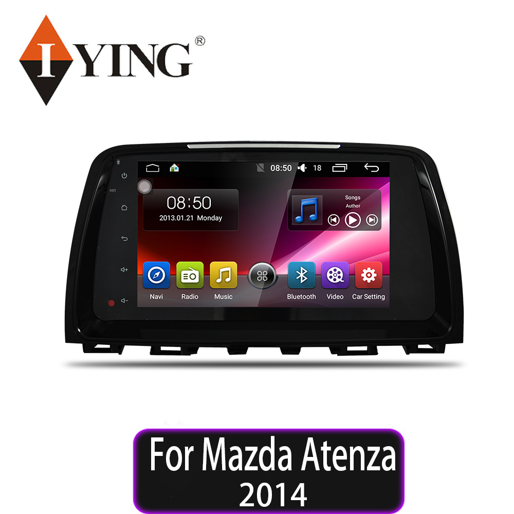 IYING Car Radio Multimedia no 2 din <font><b>android</b></font> 10 Video Player Navigation GPS For <font><b>Mazda</b></font> <font><b>6</b></font> <font><b>Atenza</b></font> 2014 WIFI 8 core car radio player image