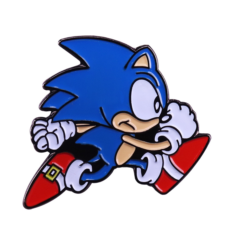 Cartoon Icons Style Sonic The Hedgehog Badge Buttons Brooch For Children Party Birthday Gifts Anime Sonic Denim Shirt Pins Toys Party Diy Decorations Aliexpress